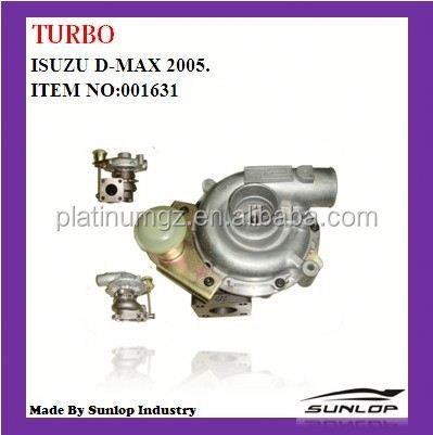 for d- max spare parts turbo #0001631 turbo for d-max