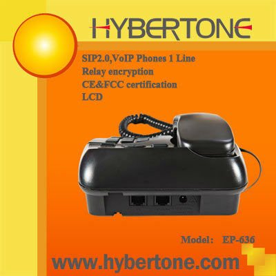 EP-636 1-Line VOIP Phone( IP Phone) network device