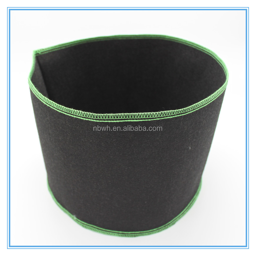 wholesale hydroponics 1,2,3,5,10,15,20,25 gallon fabric grow bag/Smart Plant Pot Plastic black nursery pot