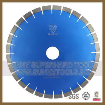 Good quality hot pressed segmented diamond saw blade for granite cutting