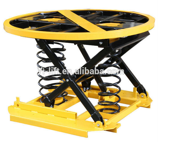 Spring Activated Lift Table