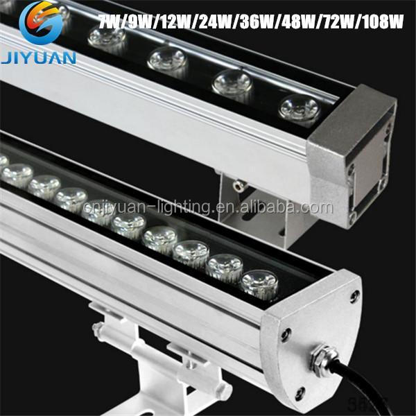 Professional high quality led stage light 9*8W RGBW dmx led bar 4/6/8CH ourdoor wall washer with CERoHS Approval