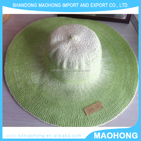 Hot seller 100% paper straw hat body with high quality