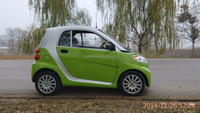 Electric Vehicle 2 door 2 seats 4 wheel 72V3.5KW with air condditional