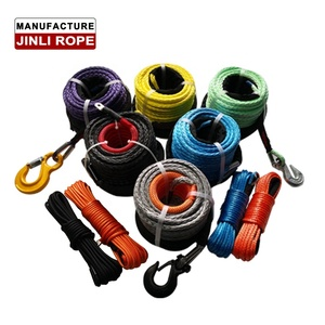 JINLI OEM certified offroad 4x4 car accessories synthetic winch rope line