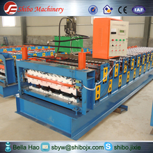 Attention! sales champion in China color steel automatic with free parts double layer roll forming machine