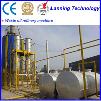 Large capacity Waste Black Oil Refinery Machine to Diesel and Gasoline