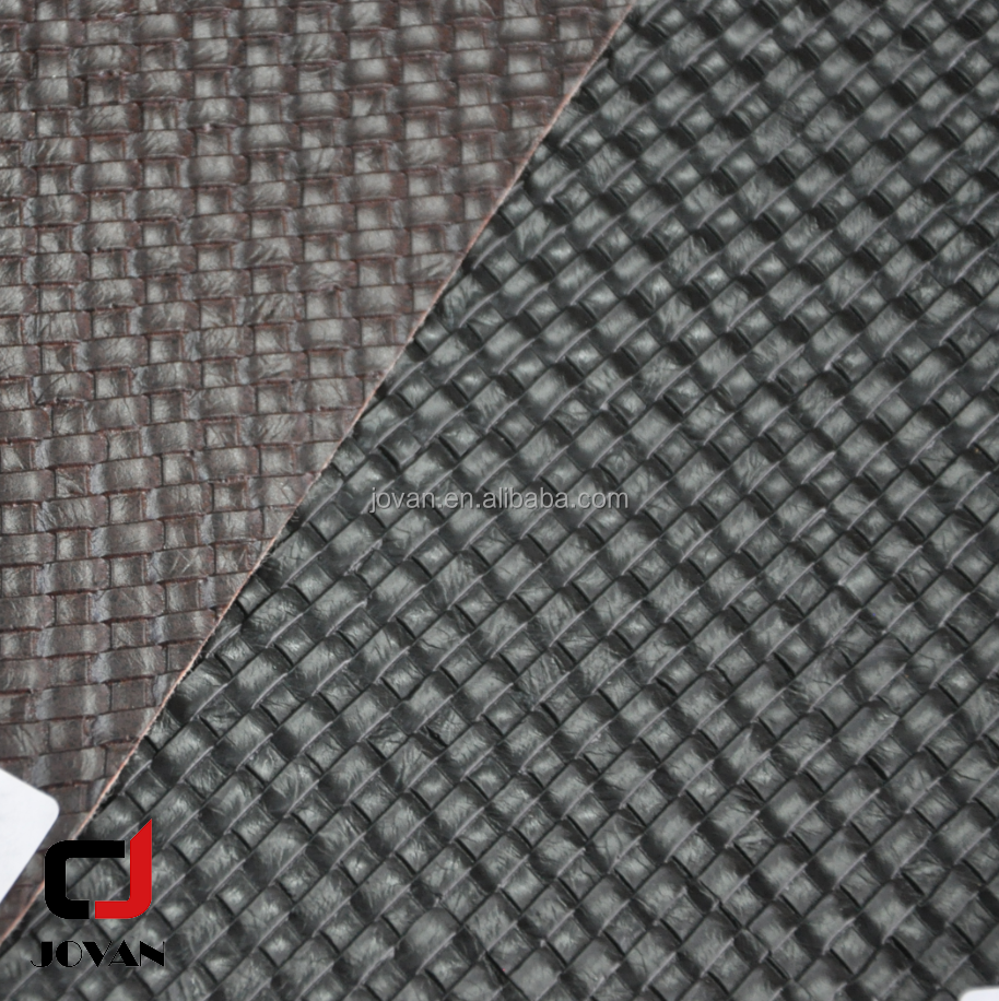 Anti-Mildew, Abrasion- Resistant, Waterproof Feature weave grain Supply Type PVC Synthetic Leather