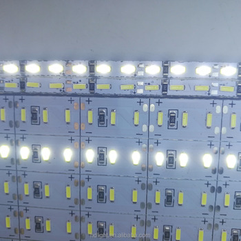 Hot sale 4014 144leds/m Rigid light Single Row Cold White With Factory price