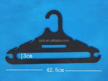 3inch doll clothes plastic small hanger for toy accessories