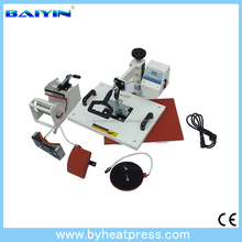 Sublimation Textile heat Press Printing Machine/ Cheap 8 in 1 Combo Mug/Cap/Tshirt Heat Press Equipment