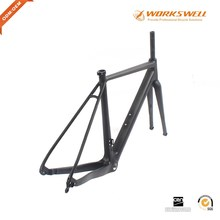 700C Thru Axle Disc Brake Cyclocross Carbon Road Bicycle Frame