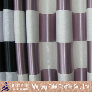 100% Polyester Fancy Blackout Jacquard Cationic Fabric