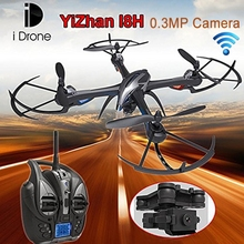 Wholesale High Quality RC Gyro Quadcopter, WiFi Toy FPV Helicopter with 0.3MP Camera and LED Light