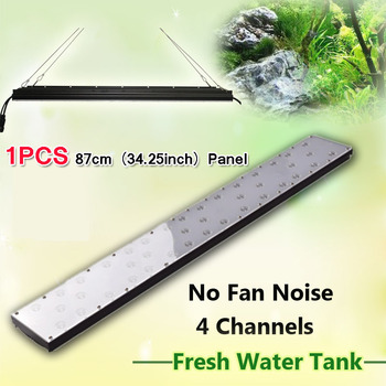 Freshwater fish live led aquarium light sunrise sunset smart controller 36inch 90w planted freshwater