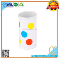 Promotional Double Wall Plastic tumbler water cup Cheap price colored mug