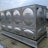 Sectional Stainless Steel Water Storage Tank For Sale, 304/316 Food grade Insulated Water Tank Price