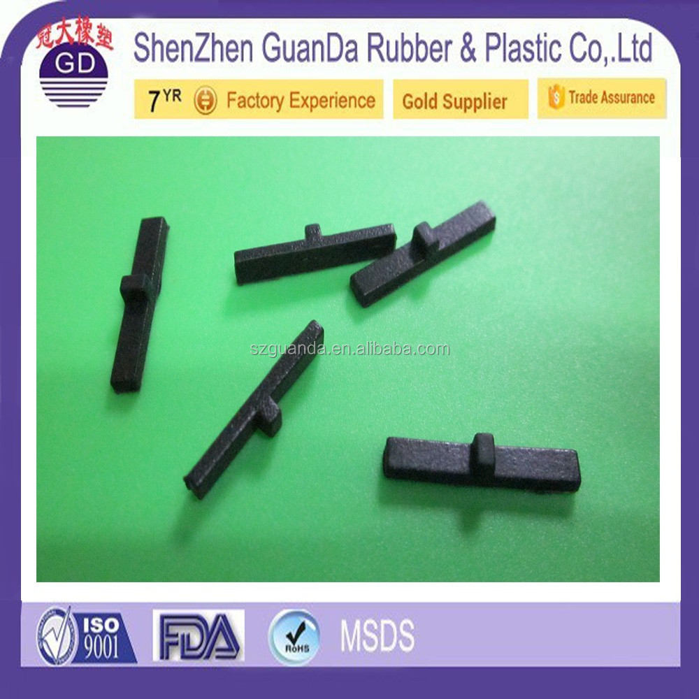 Custom silicone Needle square Rubber Grommets Hole Plug Electrical Accessory