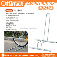 Atli wholesale Bicycle Packing Rack Storage L Dhape Aluminium Alloy Display Bike Floor Stand for Cycling