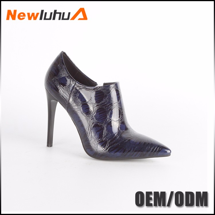 2017 new design fashion high neck shoes women