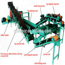 Latest vehicle car truck scrap tire recycling equipment