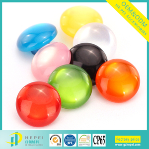 Clear fancy brand name plastic buttons for childrens clothing