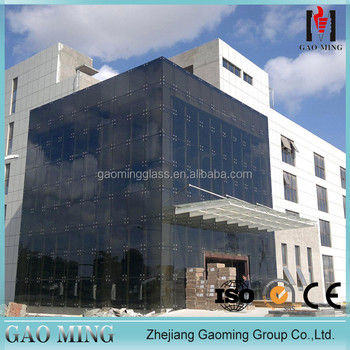 Alibaba China good supplier for the decorative glass curtain walls for building DS-LP3175