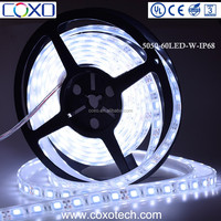 Hot Sale 60Leds 24V SMD 5050 IP68 Silicone TUBE Resin Waterproof Warm White Flexible LED Light Strip