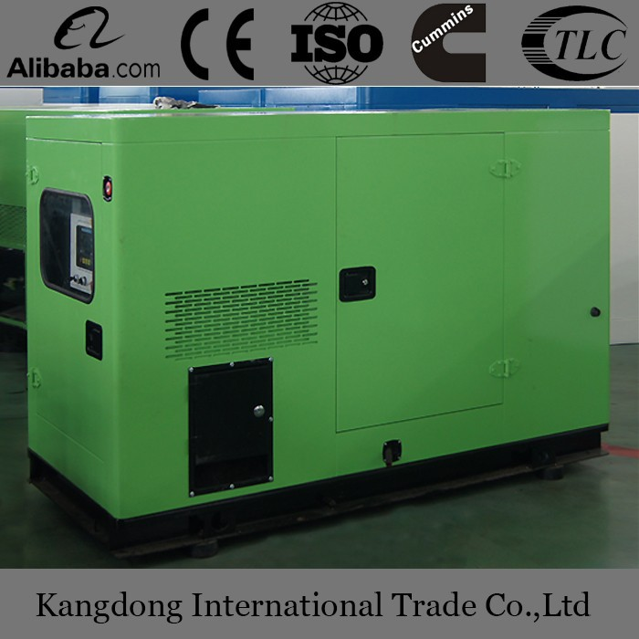 Water cooled 625KVA super silent diesel generator approved by CE