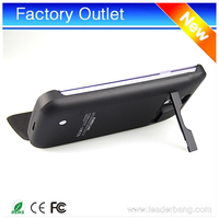 2016 new designs mobile battery case 3800mah power bank for samsung galaxy s5/battery charger case
