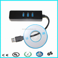 USB 3.0 to rj45 adapter 3 port usb hub to lan adapter