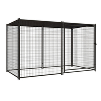 Lucky Dog Uptown Welded Wire Dog Kennel with Free Cover Huilong factory directly