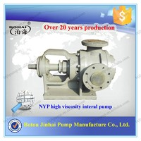 NYP high viscosity heat insulation bitumen pump with small vibration and low noise