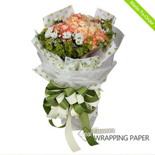 Factory directly sales Eco-friendly Baby Bouquets BOPP wrapping paper