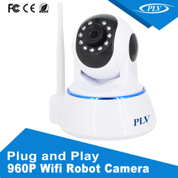 2016 new products infrared pan tilt baby monitor ip 1.3MP hd cctv camera wireless recorder