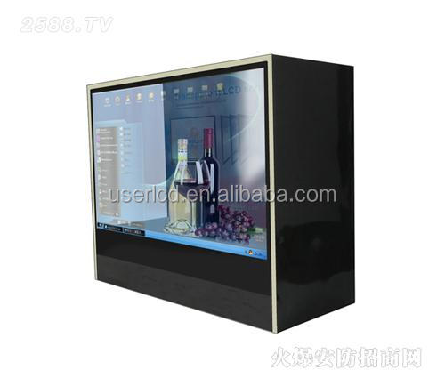 Hot style customized make transparent lcd screen, 42 inch flexible transparent lcd