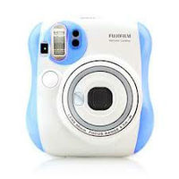 Fuji film Instax mini Camera instant Polaroid mini 25s Blue Limited edition