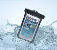 Smartphone Holder Armband Case Universal Underwater Protector Waterproof Case Compatible 5.5inch Phones