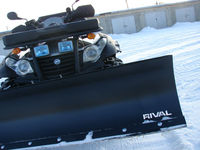 Snow plow for ATV/UTV