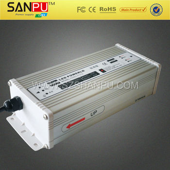 high quality 30A 150w 120v 5v rainproof switch power supply for led lights