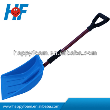 plastic snow shovels with steel tube