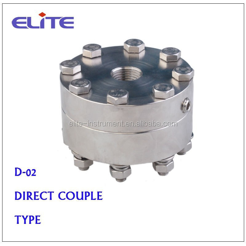 D-02 DIRECT COUPLE TYPE DIAPHRAGM SEAL FOR PRESSURE GAUGE