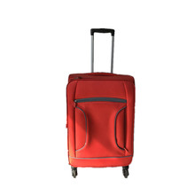 4 wheeled fabric EVA soft travelling bags luggage made by China luggage manufacturer