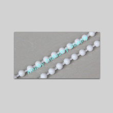 4.5mm X 6mm Thick Cord Roller Blinds Plastic Ball Chain