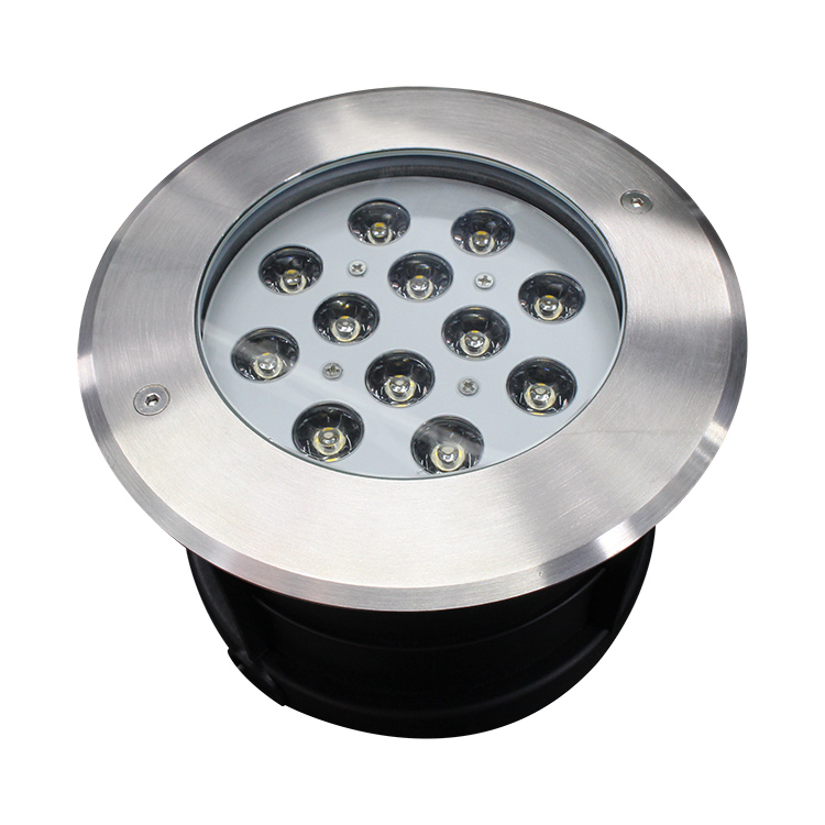 High Water Resistance 12w AC85V-265V Led Underground Light In Concrete