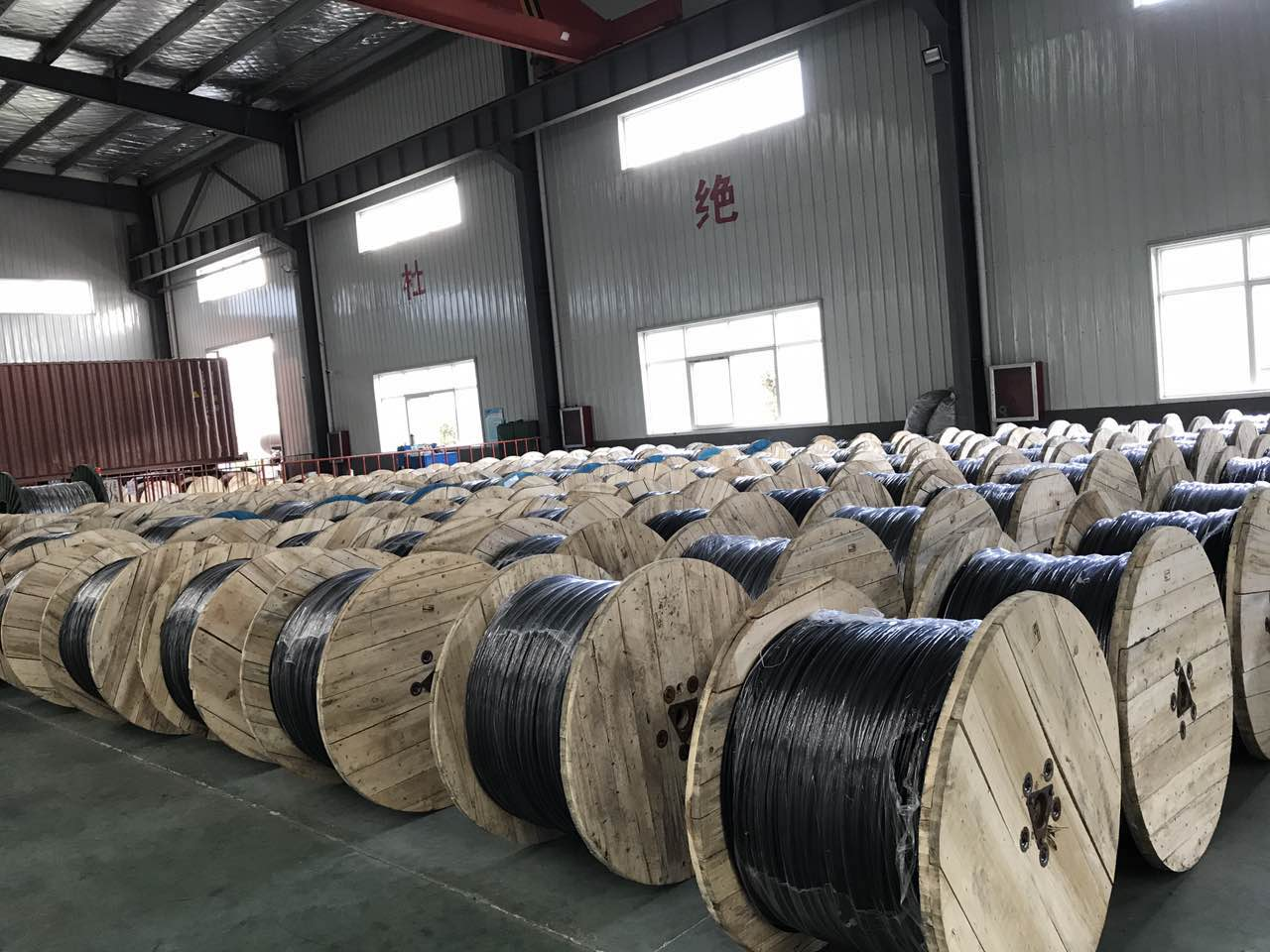 3 Phase Al Xhhw 2 Aluminum Conductor Xlpe Insulation Cable