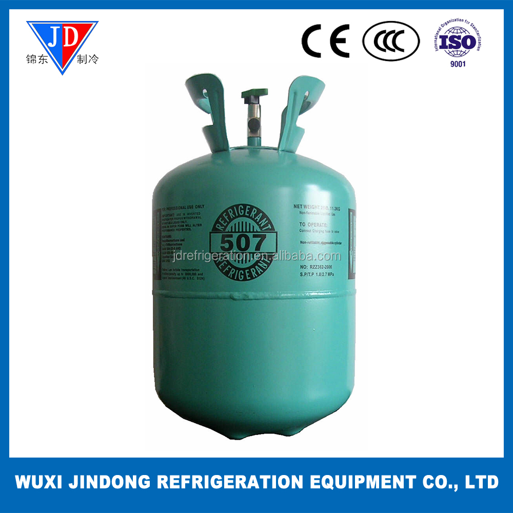 Mixed refrigerant R507, refrigeration gas for air conditioning
