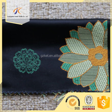 flower satin jacquard fabric for woman bags