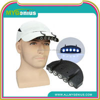 led hunting cap lights , led miners cap lamp ,H0T078 sport cap with led sport cap with led