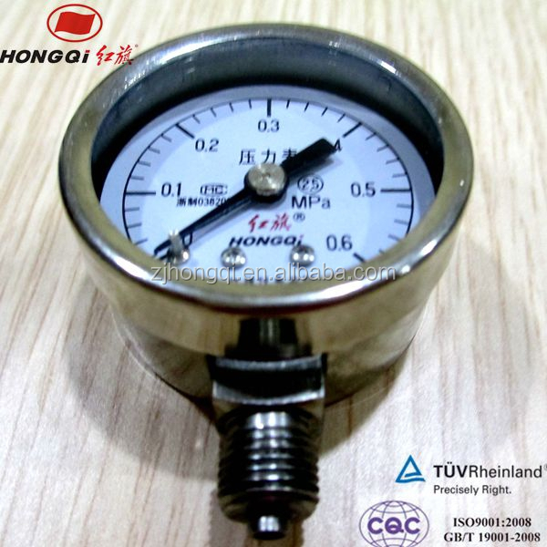 Mini general pressure gauge manometer with high accuracy and guaranteed quality